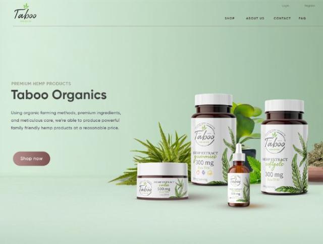 网站设计使用舒适的颜色